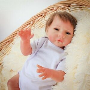 Real Looking Masterpiece Dolls Girls Standing Reborn Baby Dolls Big Size Girls