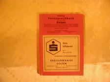 Örtliches Fernsprechbuch für die Ortsnetze Uelzen 1957