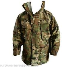 BRITISH ARMY MTP GORETEX JACKET HOODED WATERPROOF COAT MVP CAMO CADET SURPLUS