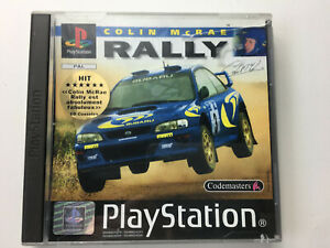 Jeu vidéo colin McRae rally Playstation Sony PS1