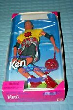 1995 In Line Skating Ken Doll -New in Box-Box Damage