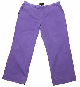 Polo Ralph Lauren Rugby Mens Pants Purple 38x30