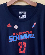 Atlanta Dream WNBA Shona Schimmel Adidas Men's T Shirt Size XL
