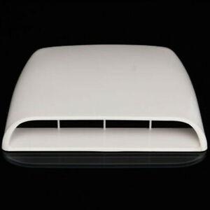 Cars Accessories Decor Air Flow Intake Scoop Bonnet Vent Hood Cover Universal