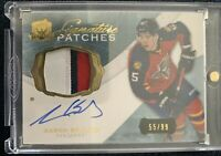 2014-15 Aaron Ekblad Upper Deck The Cup Rookie signature (3 Color)Patches