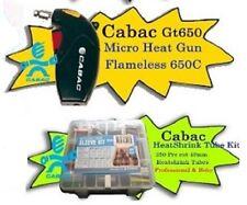Cabac GT650 Micro HeatGun - Bonus Tubing Kit