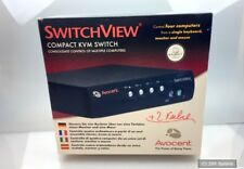 Sv400ps2-eu de Avocent SwitchView PC 4-Port ps/2 KVM Switch teclado/vídeo/mouse nuevo