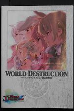 JAPAN Sands of Destruction / World Destruction Settei Shiryoushuu (Art Book)