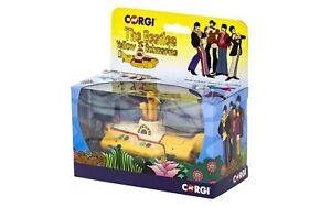 1969 Yellow Submarine The Beatles yellow Box 1:36 Corgi OVP NEU