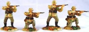 Conte Collectibles  WWII035 World War 2 Waffen SS Firing Set 4 Figures Brand New