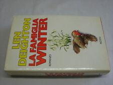 (Len Deighton) La famiglia Winter 1989 Rizzoli La scala 1 ed.