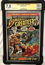 Stan Lee Signed Marvel Fantastic Four Comicbook 7.0 CGC Sealed and Encapsulated