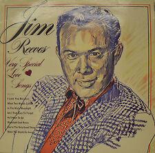 "JIM REEVES - TRÈS SPECIAL LOVE CHANSONS 12"" LP (P696)"