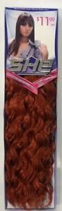 JBS Human Hair for Weaving - SHE SPANISH WAVE -closeout special