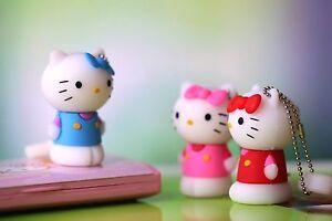 New Adorable Hello Kitty Flash Pen Drive Storage Gift Memory Stick USB 2.0
