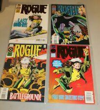 COMPLETE SET Rogue 1 2 3 4 NM Mini Series 1995 X-men Uncanny Foil Covers Austin