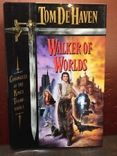 Chronicles of the King's Tramp: Walker of Worlds Bk. 1 by Tom De Haven (1990, Ha