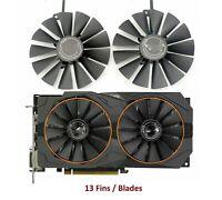 95mm Original ASUS ROG STRIX RX470 RX570 GTX1050Ti Dual Fan T129215SM 0.30A