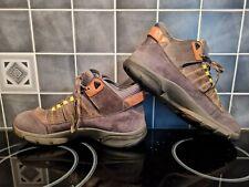 Clarks Trigenic goretex nubuck walking shoes size 8 VGC.