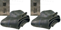 TWO 5.00-15 500-15 5.00X15 Tractor Tire Inner Tube TR15 Rubber Valve FARM 500 15