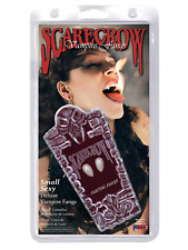 Scarecrow Love Bite Fangs in Love Heart Display Box