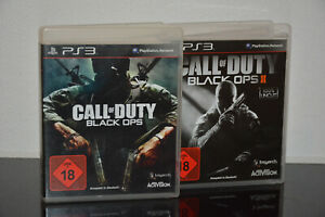 2 x PS3 Spiele - Call of Duty - Black OPS & Black OPS 2 - USK 18