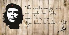 Che Guevara vinyl wall quote