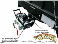 Winch hitch mount Portable for Nissan GQ GU Patrol Navara