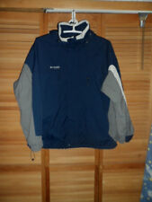 MENS COLUMBIA VERTEX BUGABOO JACKET -OUTER JACKET ONLY- GRAY/BLUE- SIZE XXL