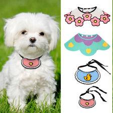 Soft Cotton Dog Cat Bandana Collar Pet Puppy Bibs Neckerchief Scarf Adjustable