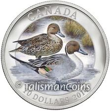Canada 2014 Ducks of Canada 3 Northern Pintail Pair $10 Pure Silver Proof Color