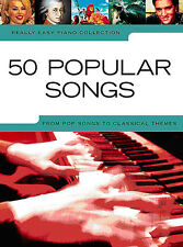 Learn to Play 50 POPULAR Really Easy POP ABBA BEATLES Songs Piano Music BOOK NEW