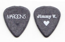 Maroon 5 Jimmy Valentine Gray Guitar Pick - 2012 Tour