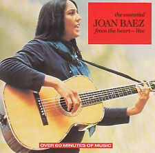 JOAN BAEZ : THE ESSENTIAL JOAN BAEZ - FROM THE HEART (LIVE) / CD - TOP-ZUSTAND