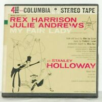 MY FAIR LADY 1959 Broadway Cast Julie Andrews COLUMBIA STEREO REEL TO REEL TAPE