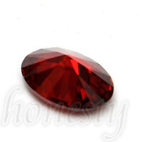 2pcs Beautiful Oval Shape Cut Red Ruby Mozambique Loose Gemstone Stone7x5mm