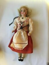 "1950s Vintage Collectible 10"" Doll Euro European Blonde Housewife Antique Unique"