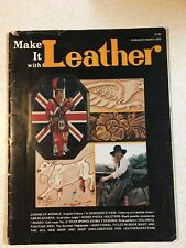 Make it with Leather magazine Feb/March 1976