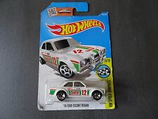 1970 Ford Escort RS1600 - White with Castrol 12 De-cal - Long Card - SEALED