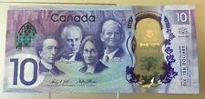 2017 CANADIAN COMMEMORATIVE 10 DOLLAR BILL cdc3018849 (UNCIRCULATED) MINT