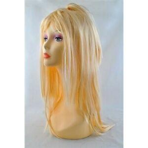 Perruque pour Femme Longs Cheveux Blonds Raides 65 cm Synthétiques Blonde
