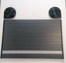 W400mm x L600mm CAMPERVAN//MOTORHOME  ALUMINIUM EFFECT TAMBOUR DOOR ROLLER DOOR