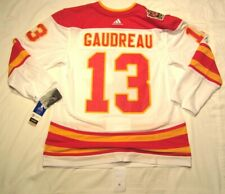 JOHNNY GAUDREAU sz 52 Large - 2019 Heritage Classic Calgary Flames Adidas Jersey