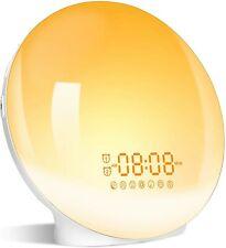 Wake- Up Light, LBell 7 Colored Night Light/Sunrise Simulation & Sleep Aid, Dual