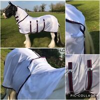 Fly Rug Combo, Fly Sheet, Satin Mane Protector, 4'9, 4ft 9, FREE UK Postage