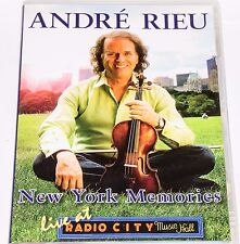 Andre Rieu - New York Memories Live at Radio City Music Hall (DVD, All Regions)