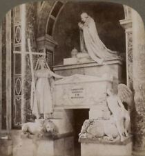 Italy. Tomb of Clement XIII, St. Peter's Church, Rome. Underwood Stereoview #011