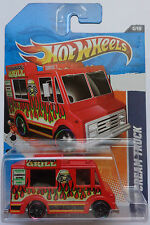 2011 Hot Wheels Ice Cream Truck Col. #174 (Red Version)