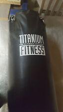 Boxsack gefüllt 120, Marke Titanium Fitness,Durchmesser 35 cm, Gewicht ca. 50 kg