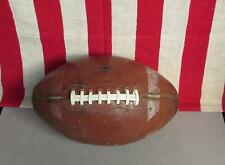 Vintage 1960s Wilson Leather Football w/Laces Official Gale Sayers Model Nice!
